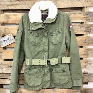 🎈NEW LISTING! Tommy Hilfiger Military Dee Jacket